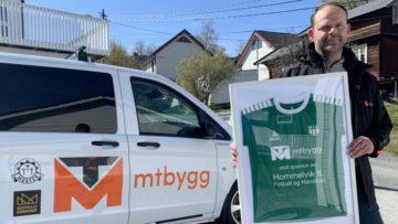 Sigurd Svavarsson er daglig leder i MT Bygg og stolt sponsor og samarbeidspartner med HIL fotball og håndball.